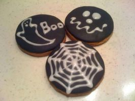 halloween cookies  by snaplilly