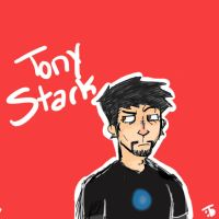 Avengers Cards #1: Tony Stark by TierneyIsLing
