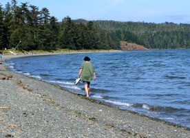 Wading at Port Rupert BC by AmyinWonderlandofOz