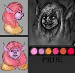 Reference Sheet: Prue by N-B-R-artwork