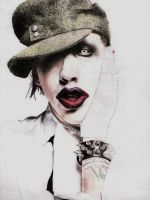 Marilyn Manson by Exthree