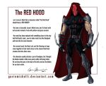 The Red Hood redesigned by GavinMichelli