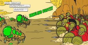 Spartans vs Banelings by surtyboy