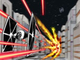 Battle of Yavin: Deadly race by Tiefgrund
