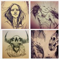 Sketches by Harkill