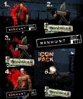 Manhunt Icons Pack by Alexe-Arts