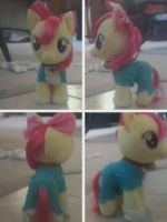 Apple Bloom's Doraemon Cosplay by Puppies567