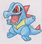 Totodile (REQUEST) by Shabou