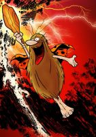 Captain Caveman by tomcrielly