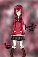 New Oc - Annette by MidoriKuro-chan10