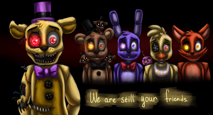 Still friends (Five Nights at Freddy's 4) by ArtyJoyful
