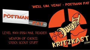 Postman Pat Level 9001 Mail by Zbot21