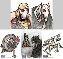 Star Wars Galaxy Sketch Cards - 09 by Monster-Man-08
