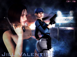 JIll Valentine by CDCNK