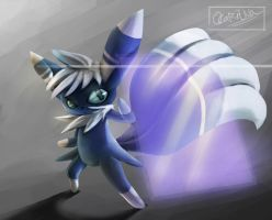 Meowstic by ocaritna