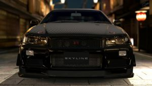 One tough Nissan GTR V Spec by RaynePhotography