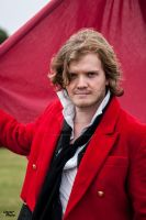 Enjolras (played in our show, by Edward Stewart) by southdevonplayers