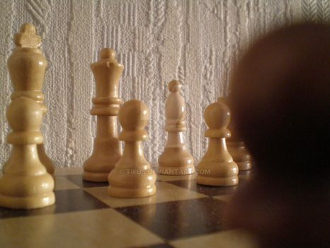 Chess Close UP by tifus