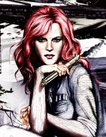 Mara Jade Skywalker Color by domino-tides