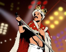 queen Mercury by deanfenechanimations