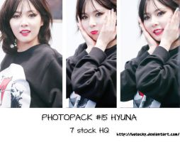 PHOTOPACK #15 HYUNA by BuLucky