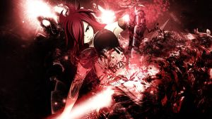 Wallpaper Erza FULL HD by Sl4ifer