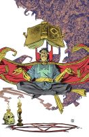 Doctor Strange Color by deankotz