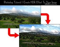 Photoshop Tutorial Create HDR effect step by step by hillllallll