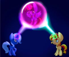 The Ultamite Magic Duel by Le-Poofe