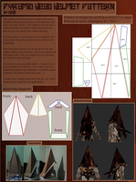 Pyramid Head Helmet Pattern by seira-chan33