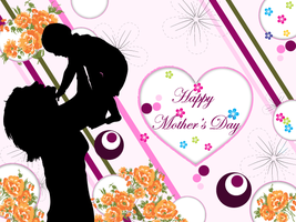 Happy Mothers Day Vector by 123freevectors