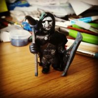 Dungeons and Dragons miniature by WyrmsTrove