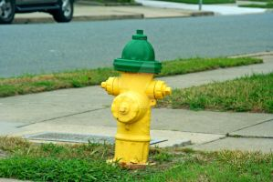 yellow and green hydrant by hyperactive122986