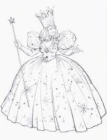 GLINDA THE GOOD WITCH by Jerome-K-Moore