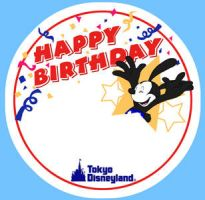 Birthday sticker by hat-M84