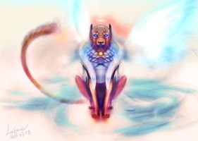 Battle Angel - Feline by Igriel
