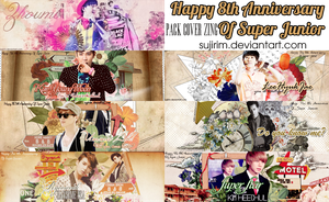 Happy The 8th Anniversary Of Super Junior by sUJiRim