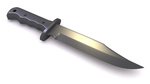 3D Knife model by xQUATROx