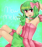 Mew Melon by Chelsi-Apple-Leafs
