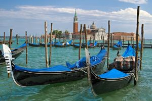 Venice in blue by Borymir