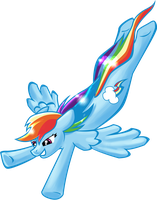 Rainbow Dash by shadow-rhapsody