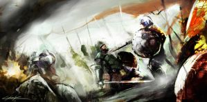 Middle ages 's battle by VitoSs