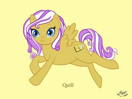 Quill by LindyArt