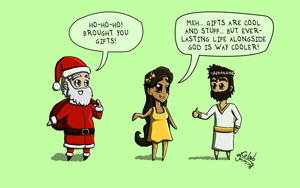 Cartoon 14 - Merry Christmas! by eJcalado