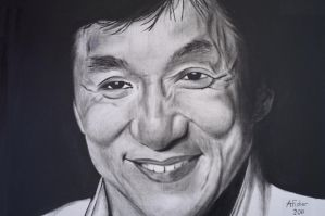 Jackie Chan by AndrewFisherArt