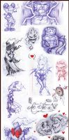 Sketchs by LilyChaoS