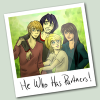 He Who Has Partners Fanart by roryseviltwin