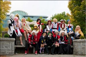 awesome happy fun time with blazblue group by Sujun
