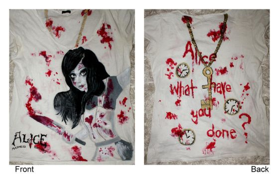 Alice Madness shirt by Kittylav