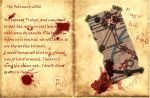 Metro 2033 themed diary by StarJerkins